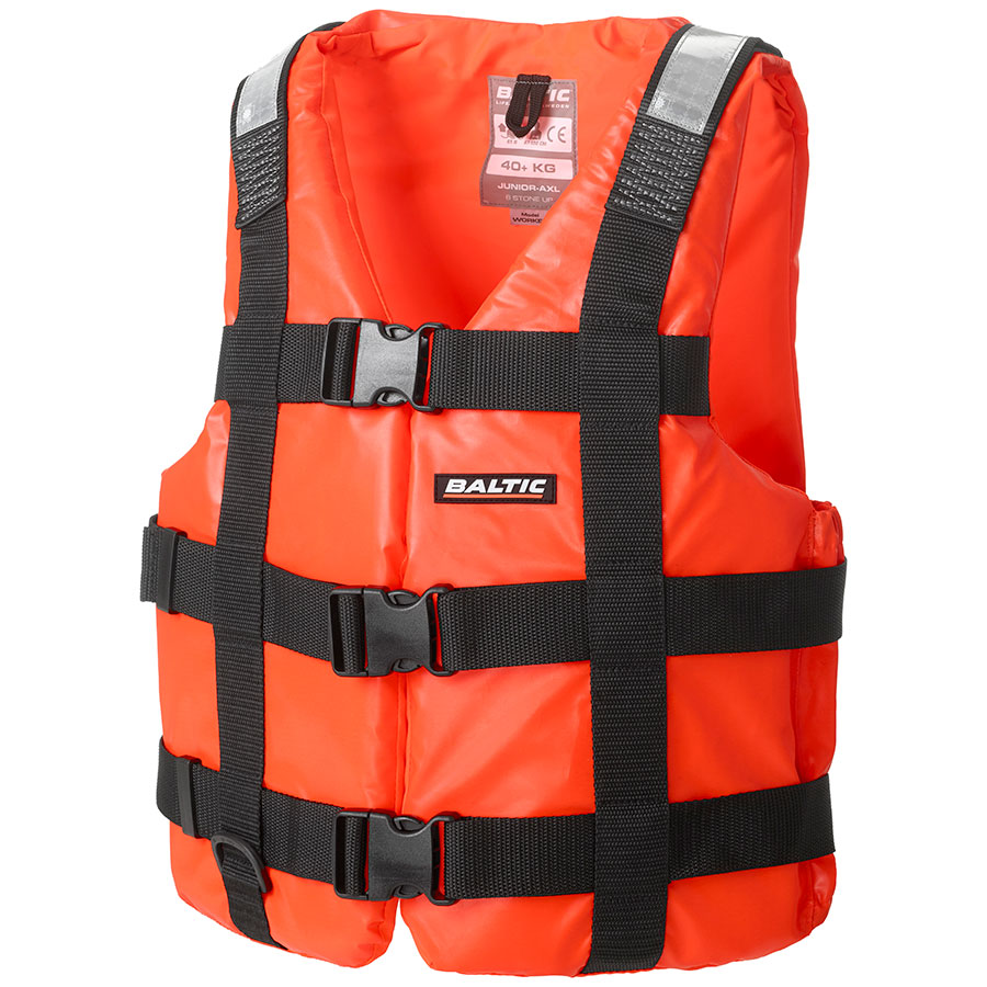 Flytevest, Worker, orange - Baltic