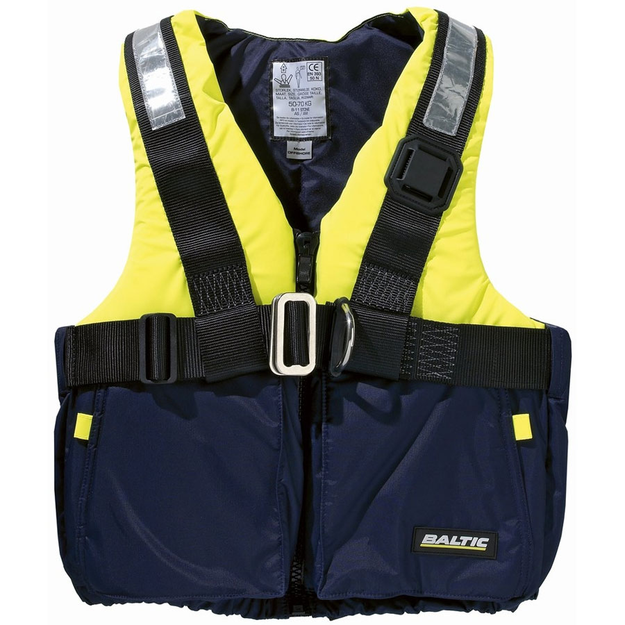 Flytevest, Offshore m/harness - Baltic