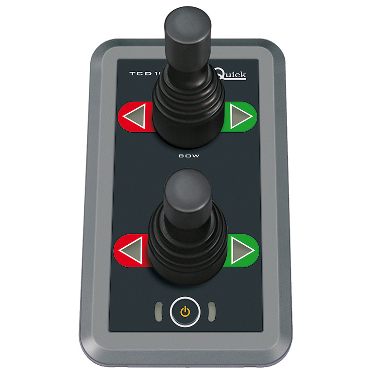 Dobbel joystickpanel til baugpropell